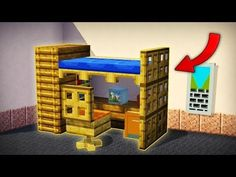 Minecraft Furniture Ideas To Get Super Ideas Lego Minecraft, Minecraft Youtube, Minecraft Secrets, Easy Minecraft Houses, Minecraft Plans, Minecraft Decorations, Minecraft Construction, Minecraft Tutorial, Minecraft Blueprints