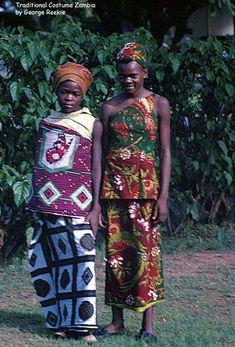 Traditional costume, Zambia