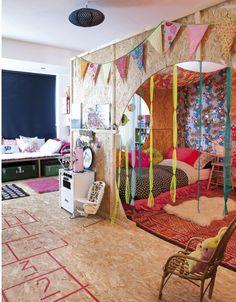 Anne Millet's bohemian house