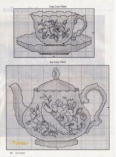 Punto Cruz Costa.: Motivos para la cocina.