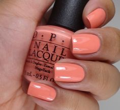 OPI Sorry I'm Fizzy Today 2 Cute Pink Nails, Hot Nails, Hair And Nails, Fancy Nails, Pretty Nail Colors, Pretty Nails, Pretty Toes, Spring Nails, Summer Nails