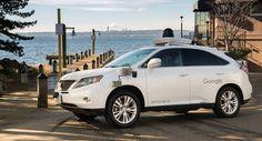 Google's autonomous cars head to Washington