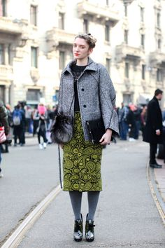 30 Street-Style Snaps From Milan Fashion Week #refinery29