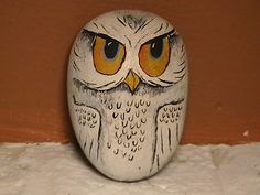 Painted Rock - Owl