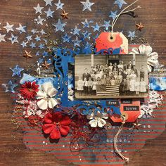 Vintage 4th of July Celebration - Scrapbook.com