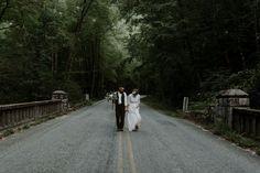 Blue Ridge Parkway Waterfall Elopement   Asheville Wedding Photographer — Asheville Wedding and Elopement Photographer Blue Ridge Parkway, Blue Ridge Mountains, Local Art Galleries, Vow Book, Mountain Elopement, Asheville, Hair Piece, Waterfall, Photoshoot