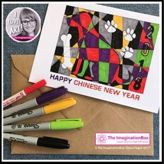 FREE Chinese New Year 2018 Coloring Pages, Year of the Dog