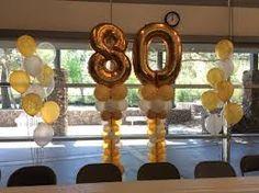 Resultado de imagen para 80th birthday party ideas