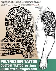 polynesian samoan tattoo - juno tattoo designs