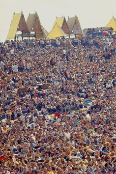 Woodstock, 1969 by Bill Eppridge I was too young to go to Woodstock and my parents were not into the hippie trip(:
