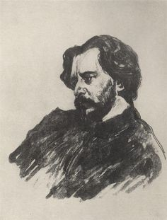 Portrait of L.N. Andreev, 1907 Valentin Serov