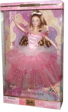 AmazonSmile: Barbie Year 2000 Collector Edition Classic Ballet Series 12 Inch Doll - Barbie as Flower Ballerina from The Nutcracker with Pink Ballet Costume, Ballet Slippers, Doll Stand and Certificate of Authenticity: Toys & Games