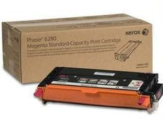 Xerox Standard Capacity Magenta Toner Cartridge (2,200 Pages) For Phaser 6280