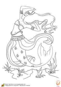 Mermaids To Print And Color | The Little Siren By *manic Goose On  DeviantART | Coloring Pages | Pinterest | Sirens, DeviantART And Mermaid