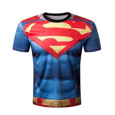 2b920c8e8 Compression Shirt Batman VS Superman Printed T-shirts Men Raglan short  Sleeve Cosplay Costume Fit Clothing Fitness Tops Male