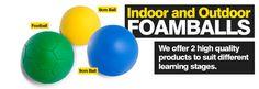 We manufacture foam balls aswell! http://www.foamballsdirect.co.uk/