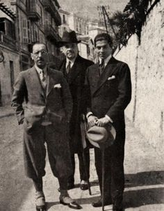 Igor Stravinsky, Sergei Diaghilev e Serge Lifar.