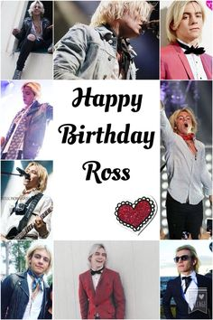 HAPPY 20th BIRTHDAY ROSS! Thank you for being exactly who you are and such a great role model for all of us! ❤️ Have the most amazing day everrrr! WE LOVE YOU ✨