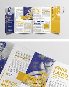 ━ CEMENTA · Branding+Folleto on Behance --Creative Brochure Ideas & Templates Flugblatt Design, Flyer Design, Book Design, Branding Design, Corporate Design, Menue Design, Mises En Page Design Graphique, Design Editorial, Brochure Layout