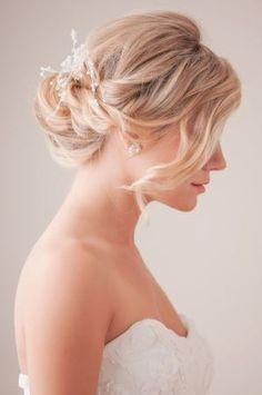 Brautfrisuren on Pinterest