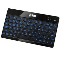 Holiday gift ideas for the techie who is on the go and works late into the night. Pair it with any Bluetooth HID enabled device - computers, tablets, or smartphones. AZIO Backlit Bluetooth Slim Keyboard for Tablets (Black) Bluetooth Keyboard, Computer Keyboard, Android Windows, Assistive Technology, Large Prints, Travel Essentials, Traveling By Yourself, Smartphone