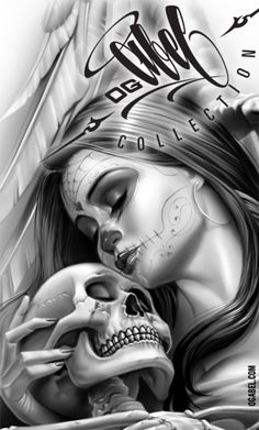 "Lowrider Art Girls | It Will Read ""The Cause of Death:ART"", Og Abel ""Love Lost 2"""