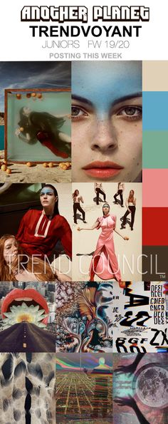 TREND COUNCIL TRENVOYANT JUNIORS ANOTHER PLANET FW19/20