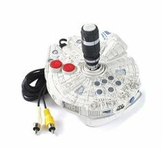 Jakks - Star Wars 5-in-1 Plug N Play TV Game by Jakks. $10.99. Joystick with built-in video game featuring your favorite characters. Requires 4 AA batteries (not included). Plugs into the A/C jacks on your TV. Rated E for everyone. Simply plug it into your TV, and you're ready to play!. From the Manufacturer                The battles of Episodes IV, V and VI provide the backdrop for four fast-paced games.  Lightsaber Duel allows you to recreate some of the most memo...