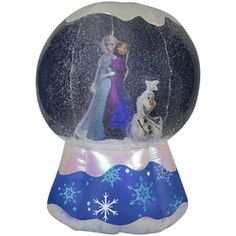 Gemmy 6-ft Lighted Snow Globe Christmas Inflatable