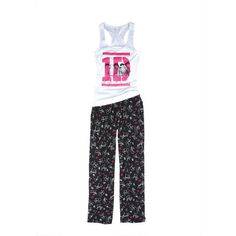 1D Photo Set ($15) ❤ liked on Polyvore featuring pajamas, one direction, pijamas und 1d
