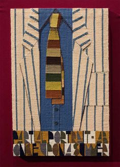 tapestry by Archie Brennan -- Partial Portrait-AB-Once Upon a Summer