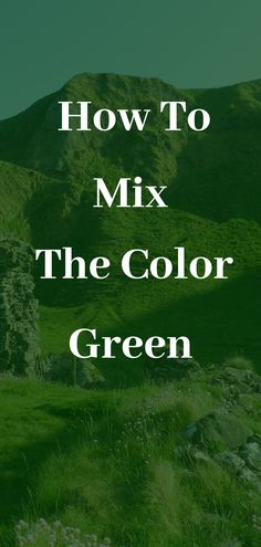 How to mix green. Learn how to make the color green in this green color mixing guide and what colors make different shades of green when mixed together. Canvas Painting Tutorials, Acrylic Painting Techniques, Painting Lessons, Green Art, Green Colors, Color Mixing Guide, Mixing Colours, Different Shades Of Green, Encaustic Art
