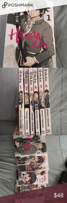 Manga handa-kun vol 1-6 Handa-kun manga books 1-6 by Satsuki yoshino Manga Other