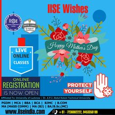 """Wishing you a calm and relaxing Mothers Day. You deserve to be pampered!"" IISE GROUP OF INSTITUTIONS Call Us: +91 7236002222, 9453350199 Website: www.iiseindia.com #thanksCovidwarriors #ADMISSIONOPEN #PGDM #MCA #BBA #BCA #BJMC #BCOM #MAMC #MABJ #BAMC #BSCMC #LucknowUniversity"