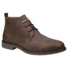Izod Cally Chukka Boots for Men - Brown Nubuck - 10.5M