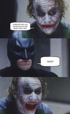 Don't worry, Batman. I fell for it too.