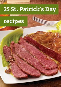 25 St. Patrick's Day Recipes – You'll feel extra lucky this St. Patrick's Day when you make some of Ireland's favorite recipes—like corned beef and cabbage, potato sides and hearty soups.
