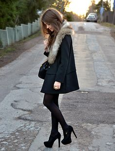 Winter outfit for Paris
