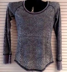 NWT Cruel Girl Adorable Leopard Cheetah Print Sheer Grey Green Top Size M, L, XL #CruelGirl #Blouse #Casual