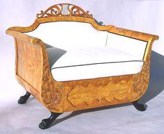 Biedermeier Love Seat c.1820-1830