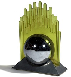 Travail italien, dans le goût de New Lamp Lampe - 1970