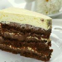 Fasting Chocolate Rum Cake (Posna Rum torta)