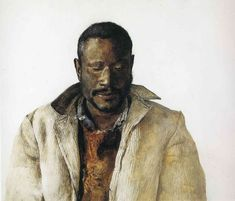 Andrew Wyeth - The Drifter (1964)