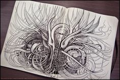 Sketchbook 2013 (vol.4) by Irina Vinnik, via Behance