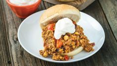 Here you go: a Sloppy Joe sandwich that tastes better than your old cafeteria's, and it happens to be vegan!