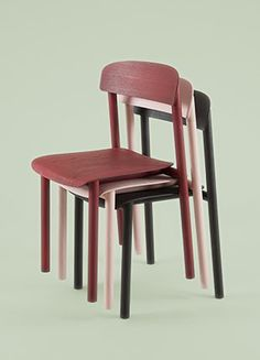 profile chair   manufactured by stattman neue mobel