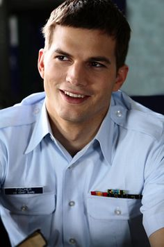 Ashton Kutcher-in my favorite movie he is in the guardian
