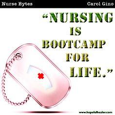 #hopefulhealer #carolgino #nurse #nursing