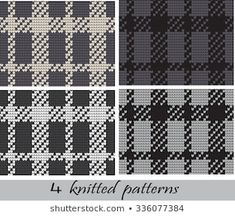 Lignende bilder, arkivbilder og vektorer av Set of Norwegian Star knitting patterns, vector seamless patterns – 554493310 | Shutterstock