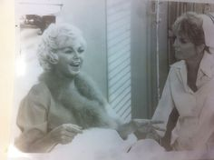 Barbara Nichols and Julie London in the set of Emergency! Black White Photos, Black And White, Julie London, Nbc Tv, Hollywood Actor, American Actress, Vintage Photos, Actresses, Actors